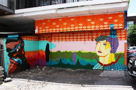 Acidum Project for the 2016 edition of Mural Festival