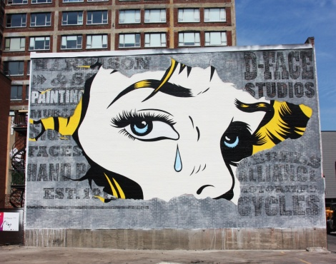 D*Face for the 2016 edition of Mural Festival