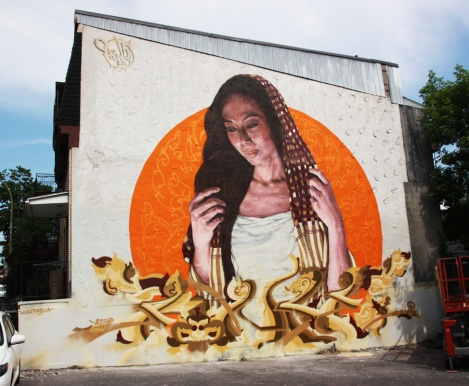 Fonki for the 2016 edition of Mural Festival