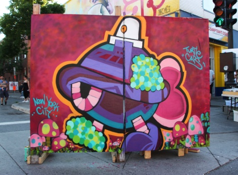 Turtle Caps on board for the 2016 edition of Mural Festival