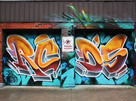 Someone representing RCD for a K6A wall in St-Henri