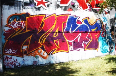 Nasp at the Lachine legal graffiti wall