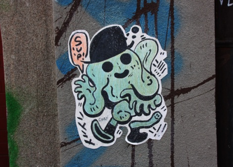 Gwan paste-up; colour variations exist