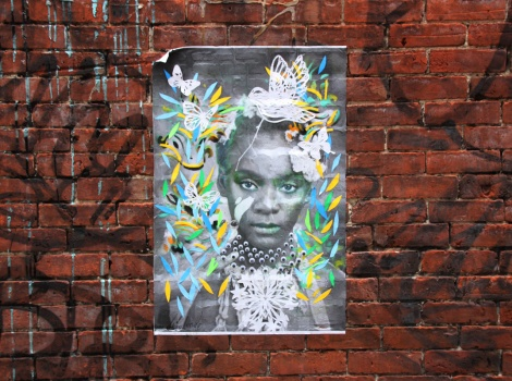 Lily Luciole poster in Mile End