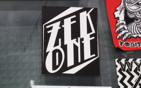 Zek sticker