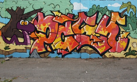 Pask in a St-Henri alley