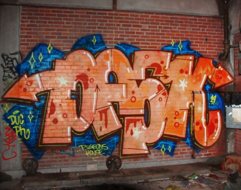 Pask piece found inside an abandoned building