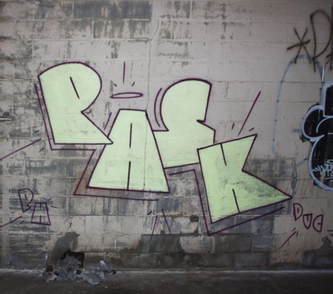 Pask inside an abandoned building in Hochelaga