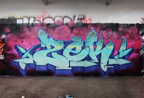 Zek at the abandoned Montreal Hippodrome