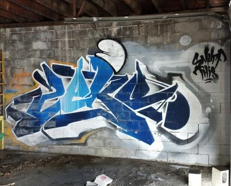 Zek in an abandoned building in Dorval