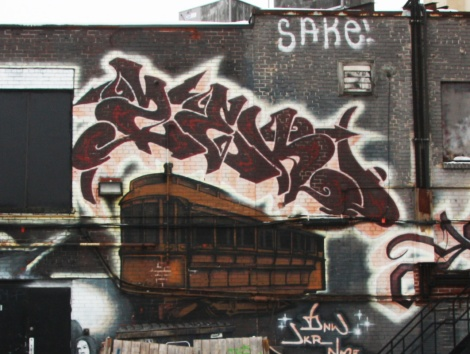 Zek in the Plateau, detail of a larger mural involving other artists