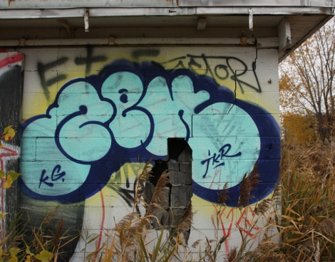 Zek throw at the abandoned Montreal Hippodrome