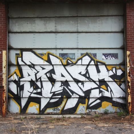 Apashe on an abandoned building
