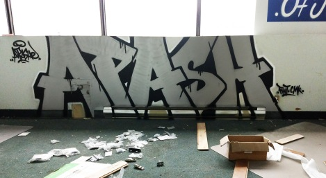 Apashe in an abandoned building