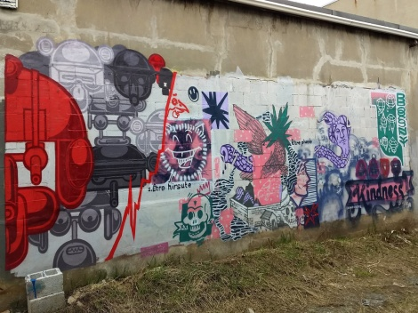 collaboration between Scribe, Swade Owens and Bosny, in Rosemont