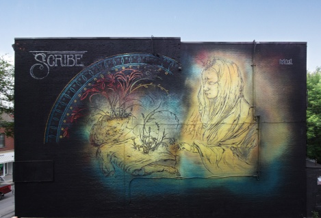 Scribe's contribution to the 2017 edition of Mural Festival