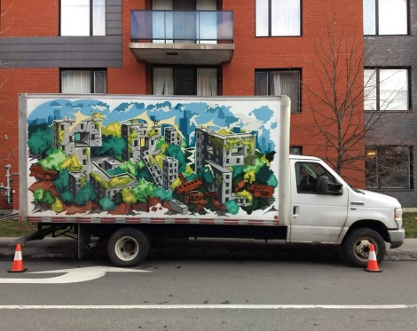 truck side by Scribe
