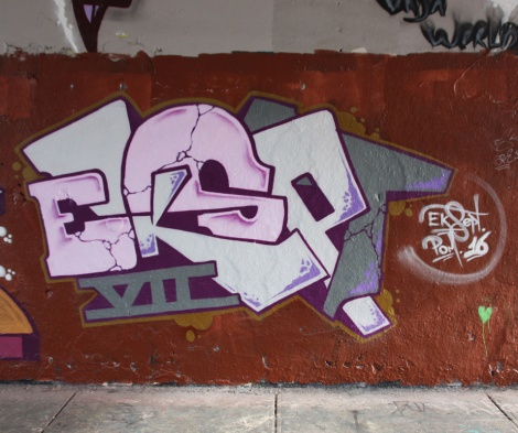 EK Sept at the Rouen legal graffiti wall