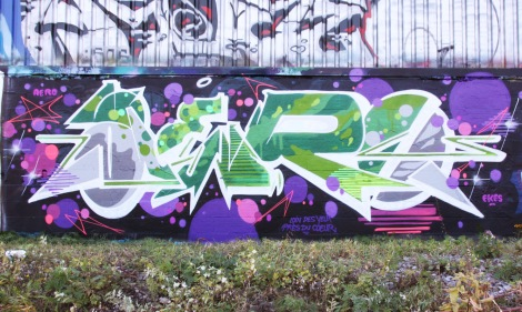 Ekes doing Aero's name in Rosemont