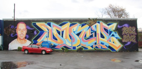 Tribute to Prince Dock in Ahuntsic, by Hsix (Dock), Stare, etc