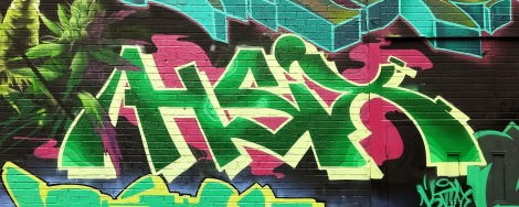 Hsix on the K6A crew wall for the 2019 edition of Under Pressure