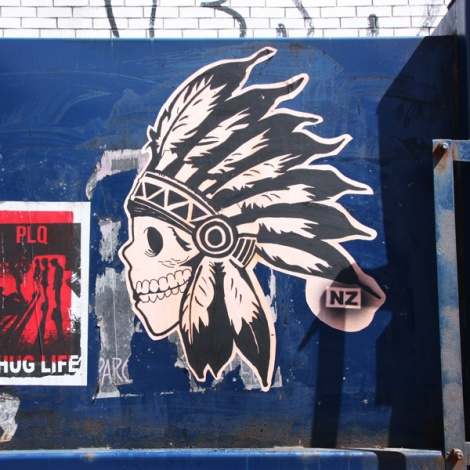 wheatpaste by National Zombi