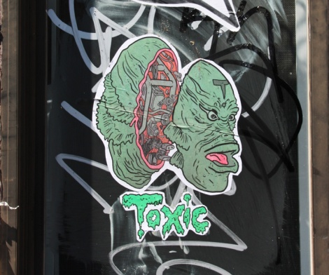 Toxic Theriac paste-up