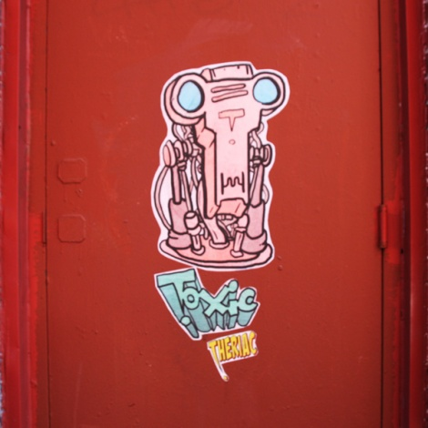 Toxic Theriac paste-ups