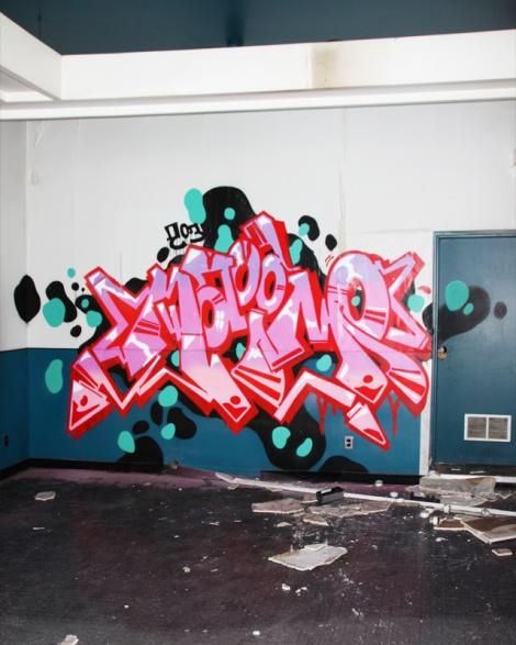 Naimo at the abandoned Montreal Hippodrome