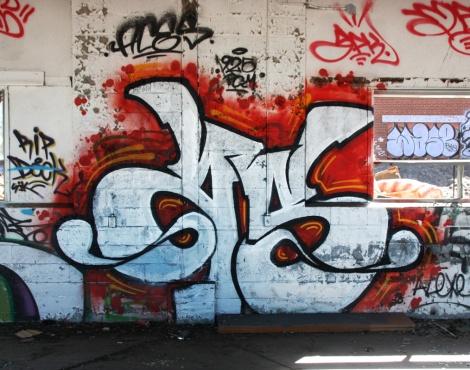 "Aces inside the abandoned ""Jailspot"""