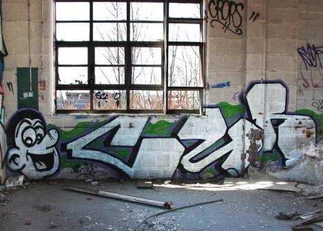 """Cuh? inside the abandoned """"Jailspot"""""""