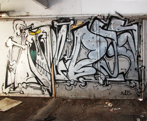 Debza at the abandoned Montreal Hippodrome