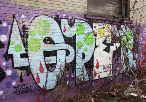 "Oper outside the abandoned ""Jailspot"""