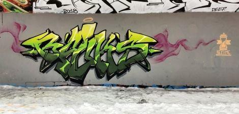 Rouks at the PSC legal graffiti wall