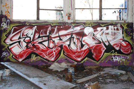"""Serum inside the abandoned """"Jailspot"""""""