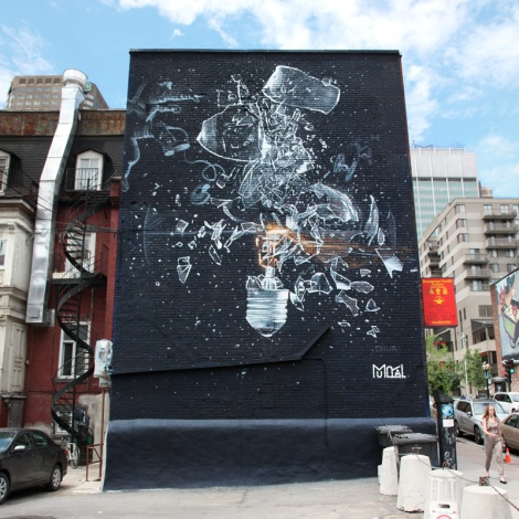 Onur's contribution to the 2017 edition of Mural Festival