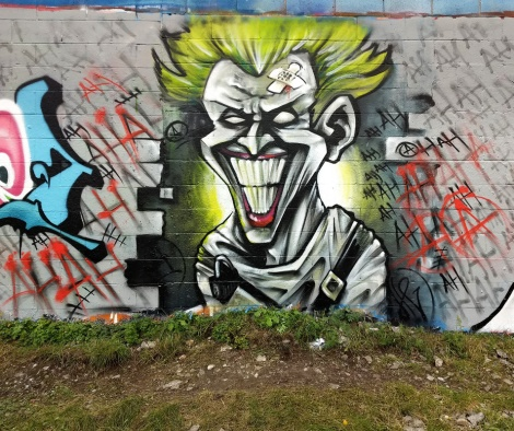 Axe Lalime from a Joker-themed prod in Rosemont