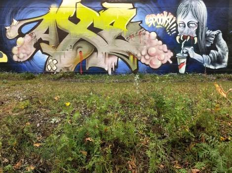 Axe Lalime in Rosemont ahead of Halloween