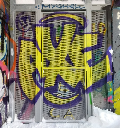 Big throw by Axe at the PSC legal graffiti wall