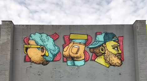 SBU One at the 2019 Lachine graffiti jam