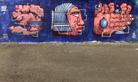SBU One at the Papineau legal graffiti wall