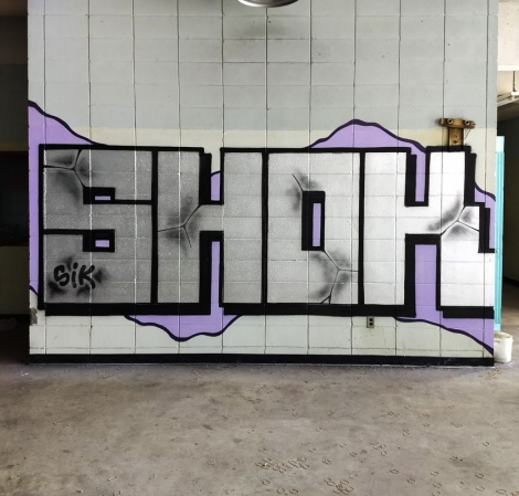 Shok at the abandoned Montreal Hippodrome