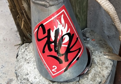 sticker tag by Shok