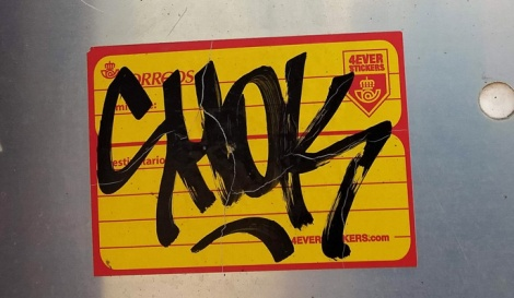 Shok sticker