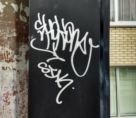 tag by Shok found in Ahuntsic