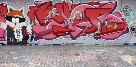Bopor at the PSC legal graffiti wall
