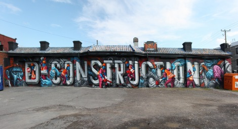 Botkin, Borrris, Arnold and Marc Sirus collab in St-Henri