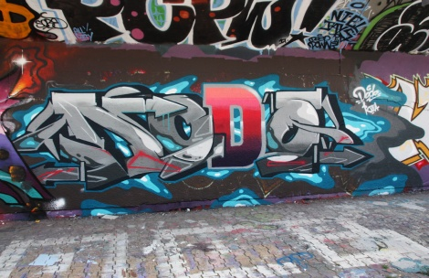 Dodo Osé at the PSC legal graffiti wall