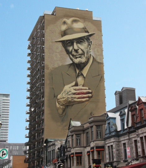 El Mac and Gene Pendon tribute to Leonard Cohen downtown