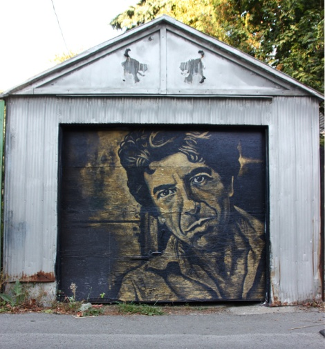 Jee tribute to Leonard Cohen in Mile End